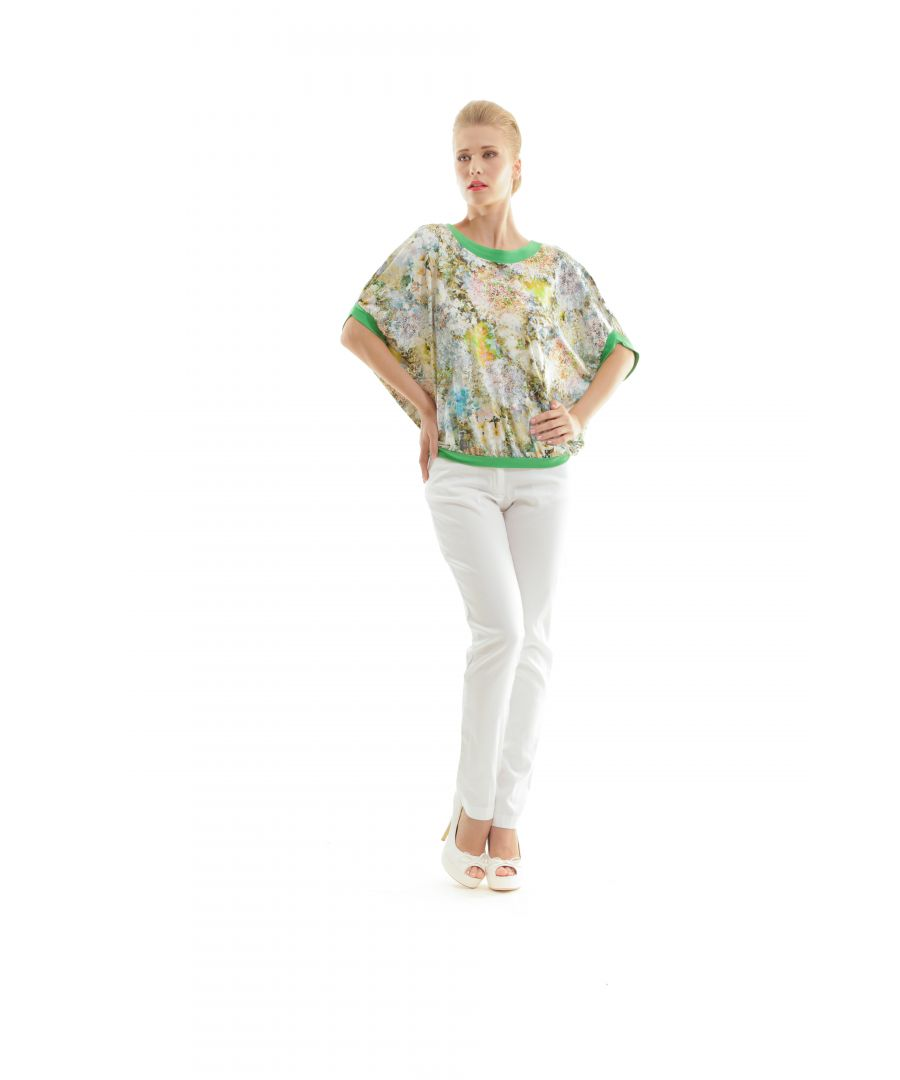 Image for Billowy Floral Print Top