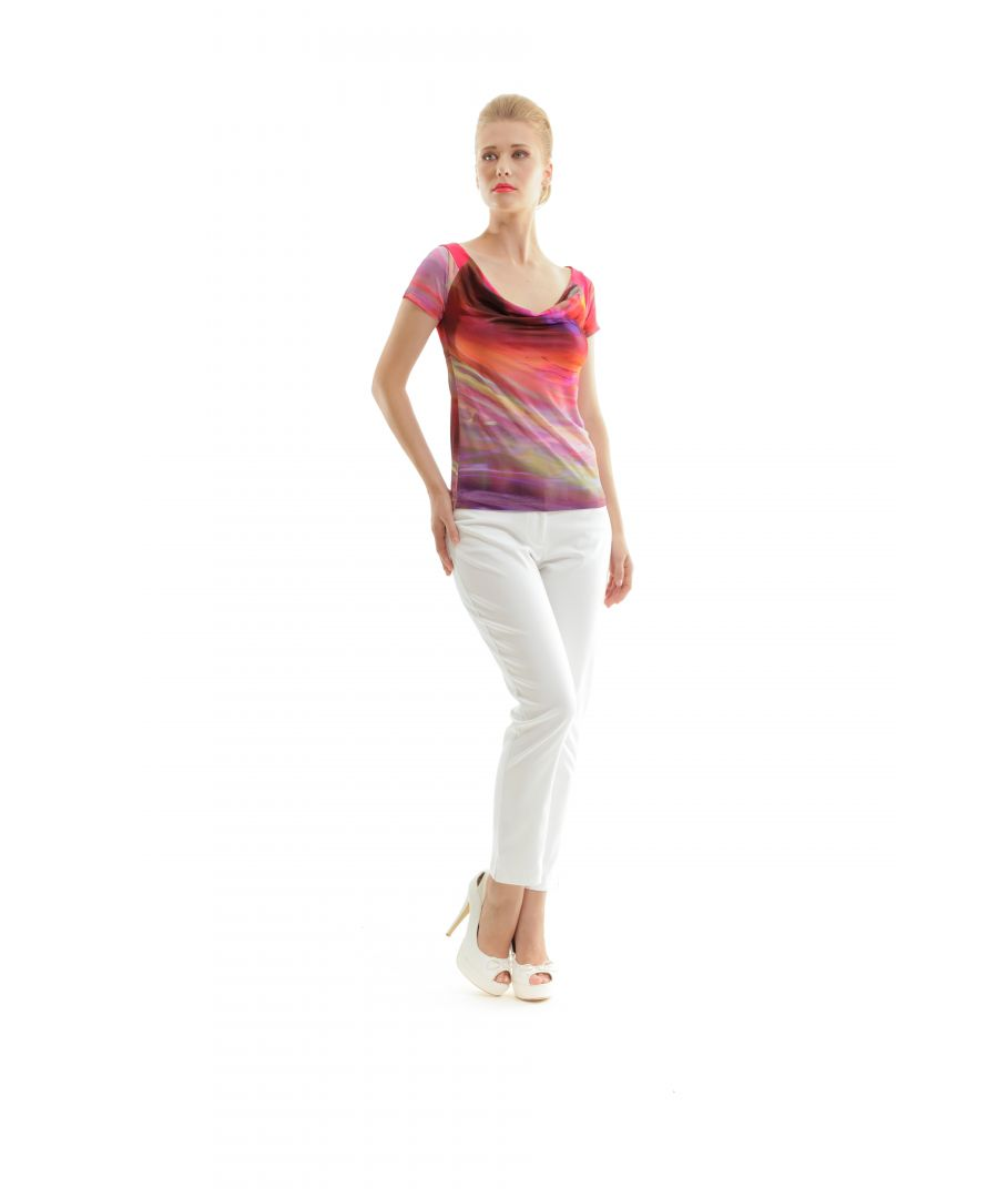 Image for Short Sleeve Print Top