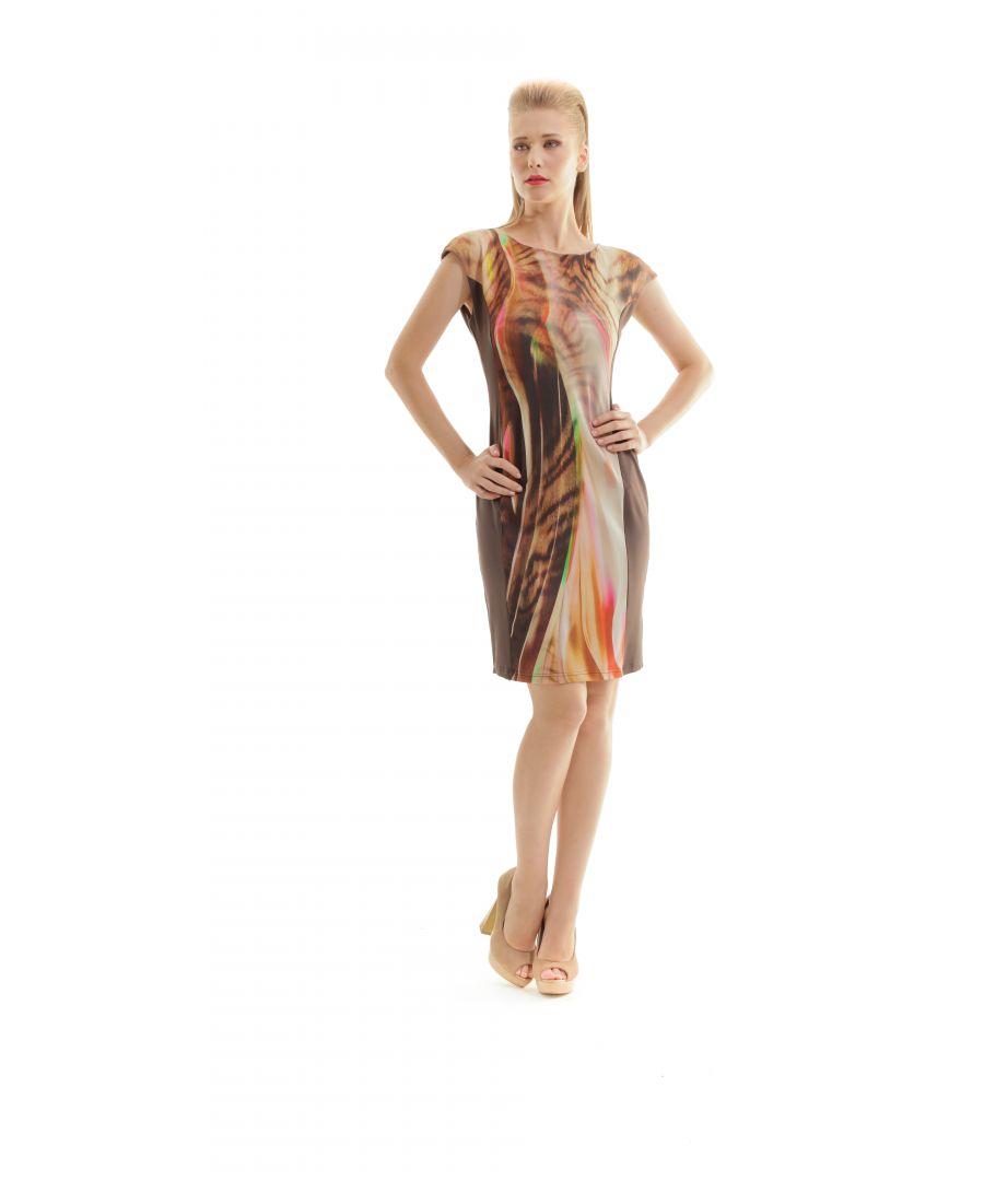 Image for Abstract Print Dress