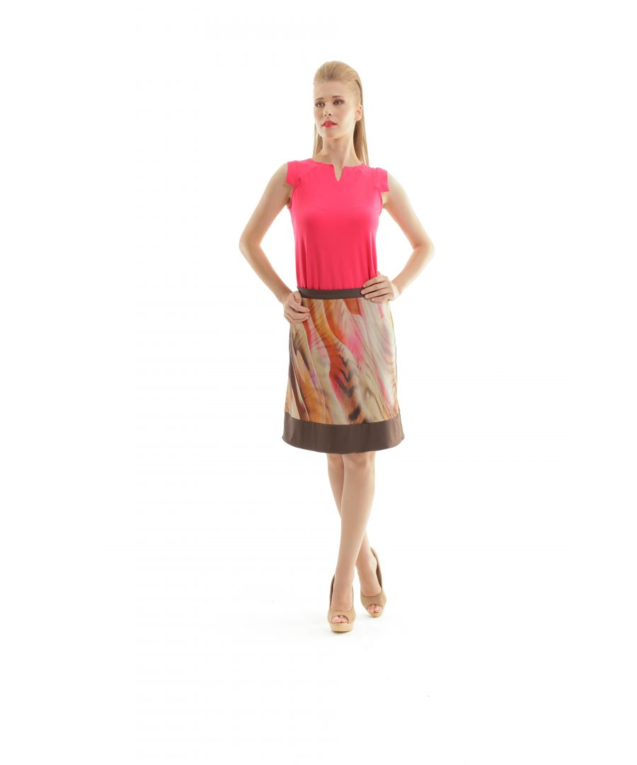 Image for V Neck Cap Sleeve Top