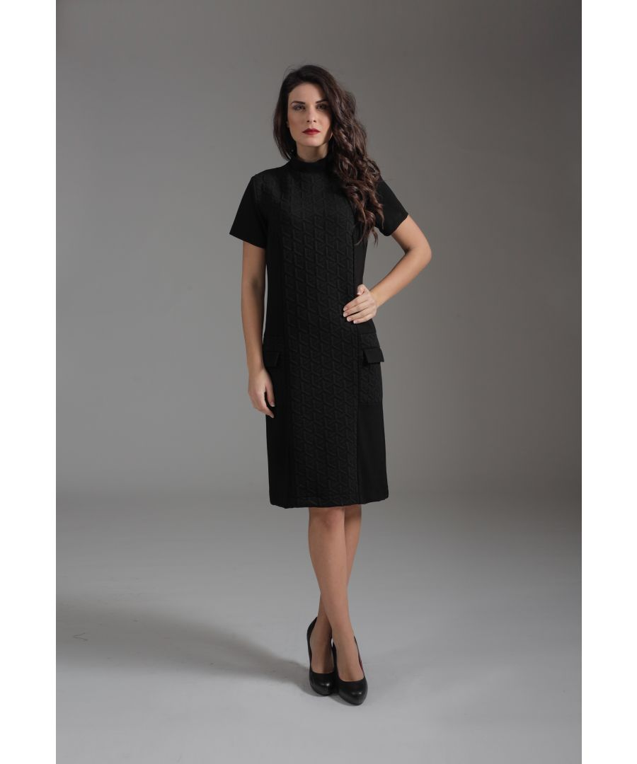 Image for Straight Turtle Neck Dress