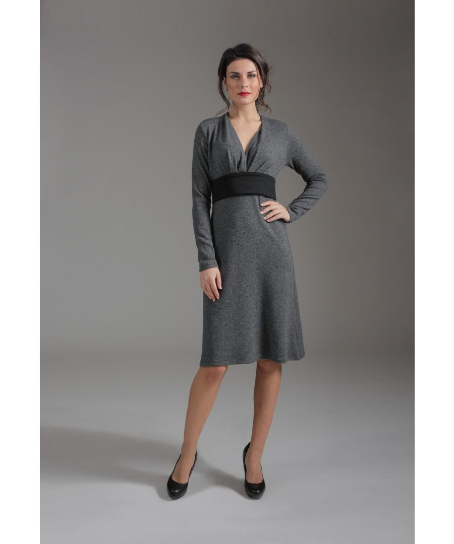 Image for Long Sleeve Empire Line Dress