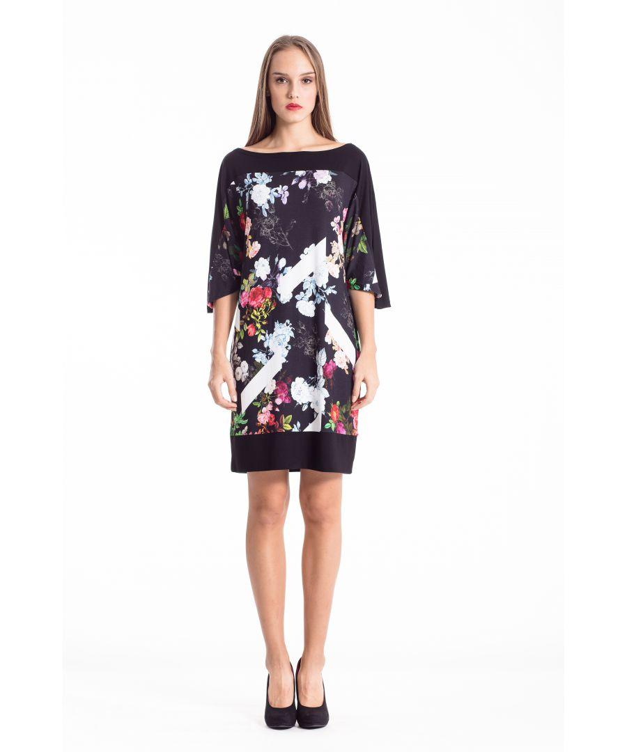 Image for Floral Sack Dress