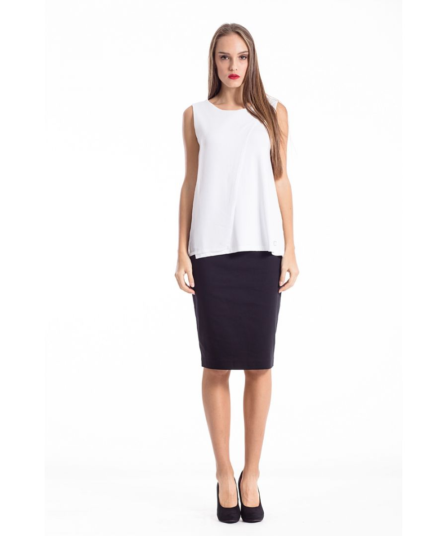 Image for Layer Detail Sleeveless Top