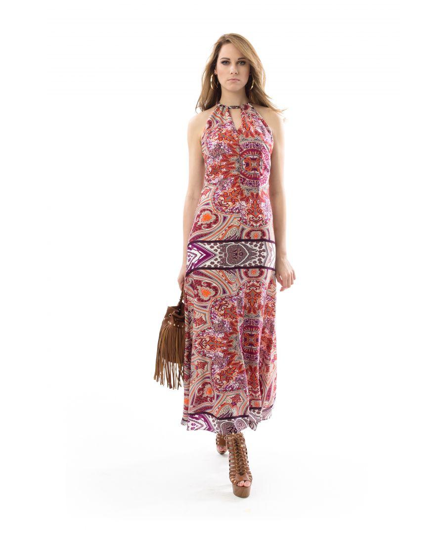 Image for Halter Neck Maxi Dress