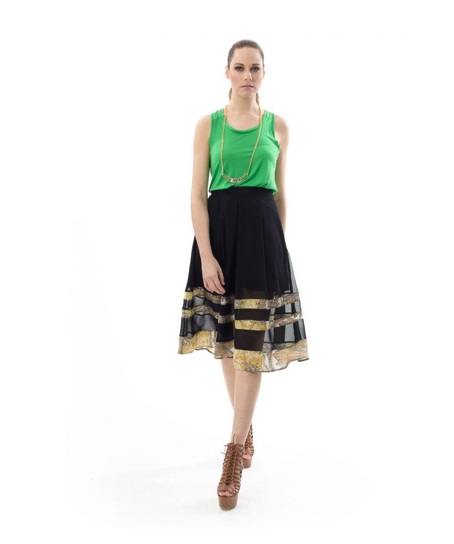 Image for Full Midi Skirt