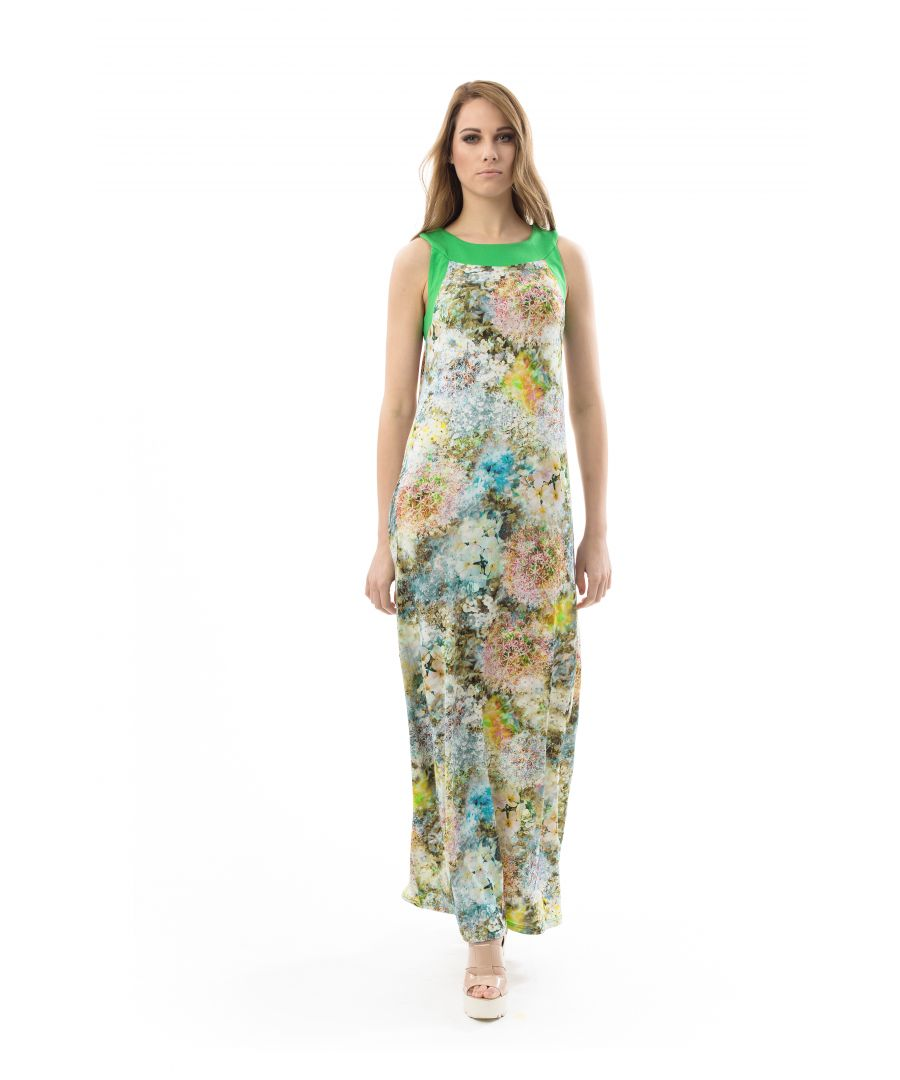 Image for Floral A Line Maxi Dress