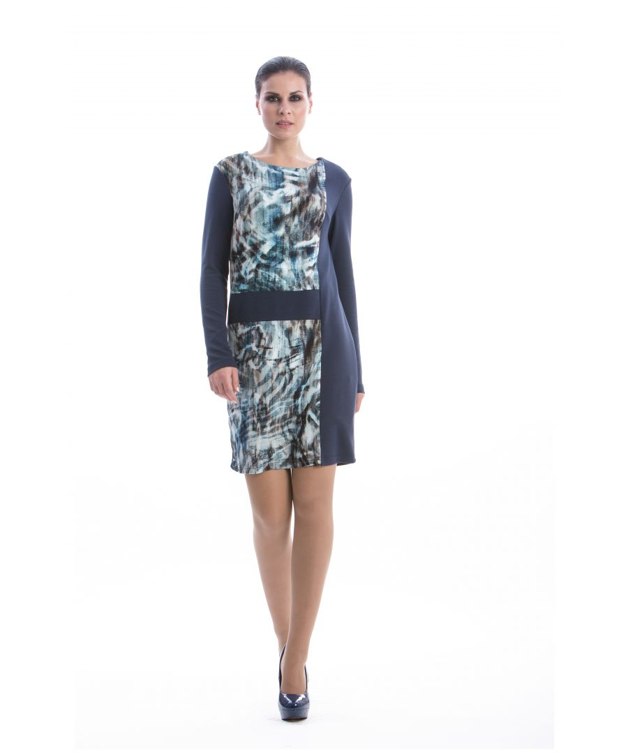Image for Straight Long Sleeve Dress