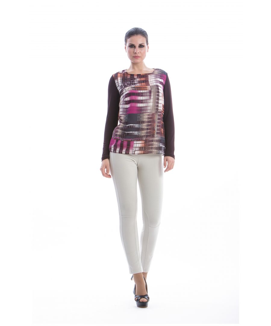 Image for Print Long Sleeve Top