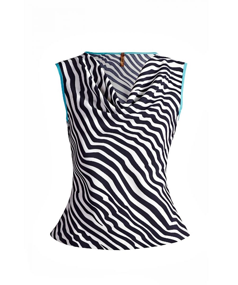 Image for Draped Neck Top