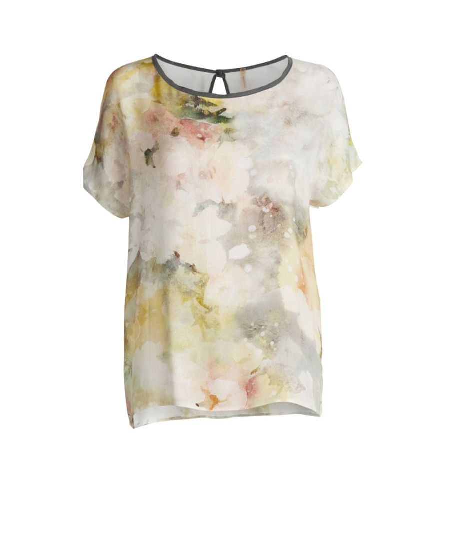 Image for Voile Print Top