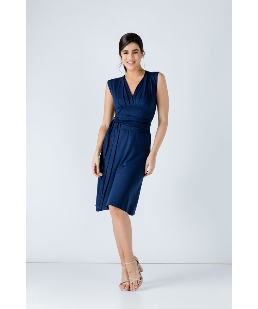 Image for Sleeveless Empire Line Dress