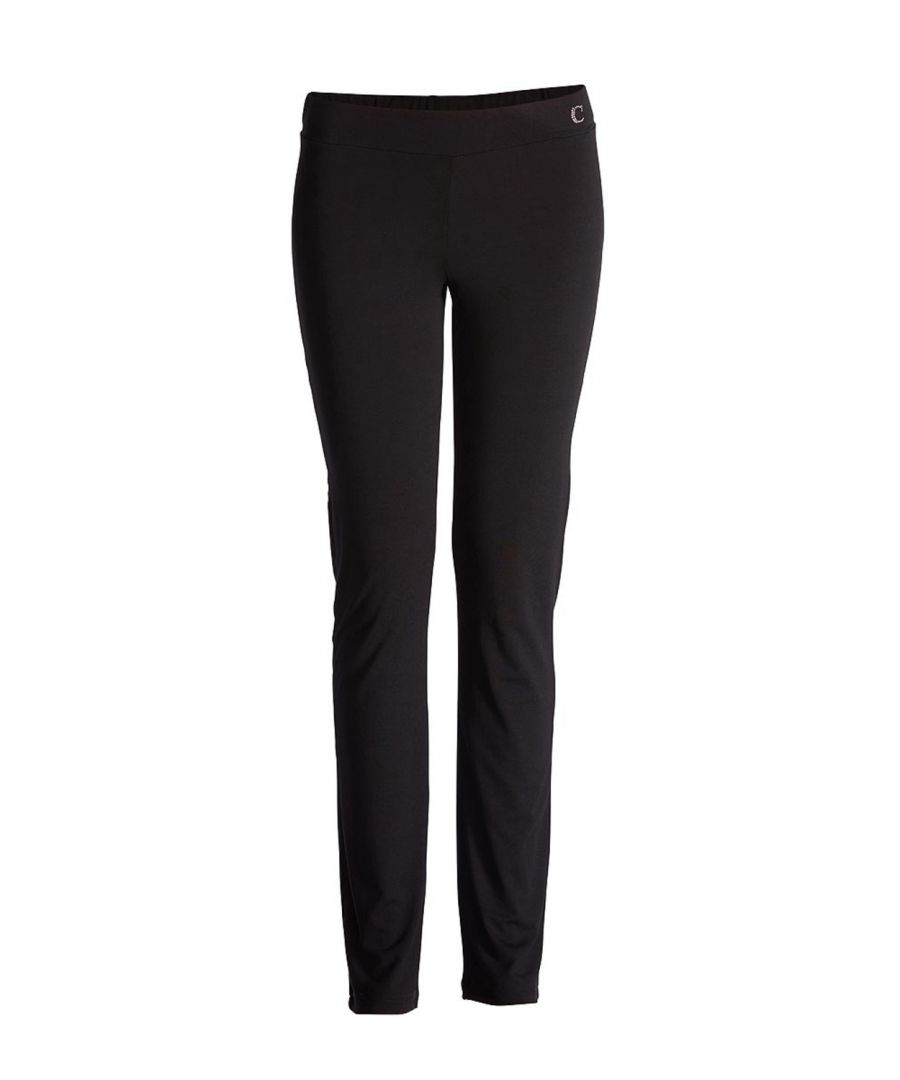 Image for Fitted Jersey Trousers