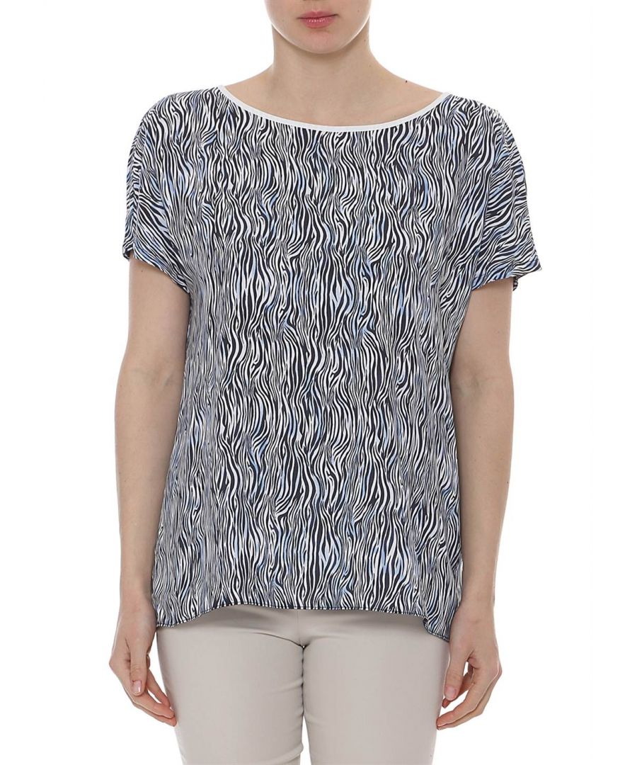 Image for Print Sleeveless Top