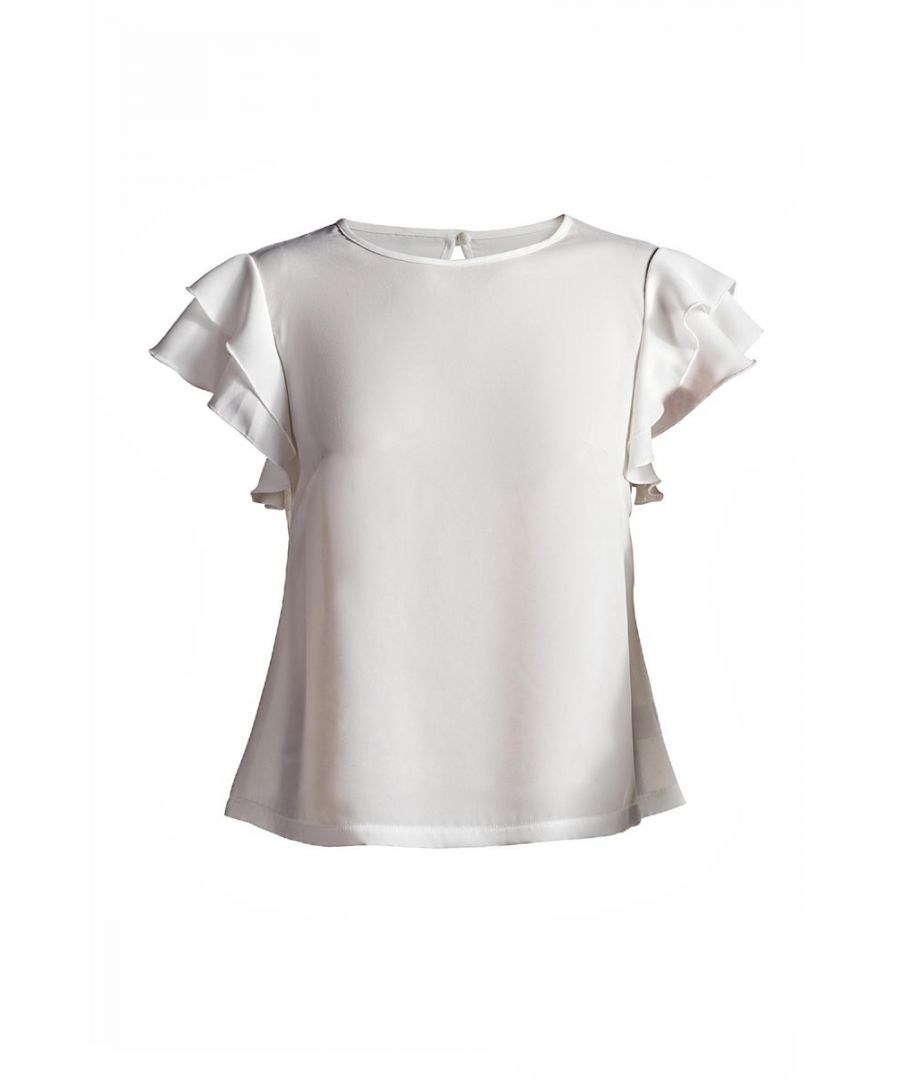 Image for Frill Detail Top