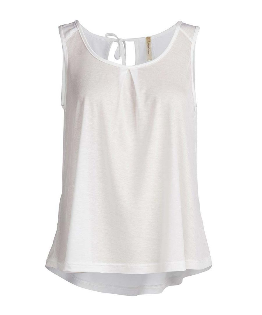 Image for Round Neck Sleeveless Top