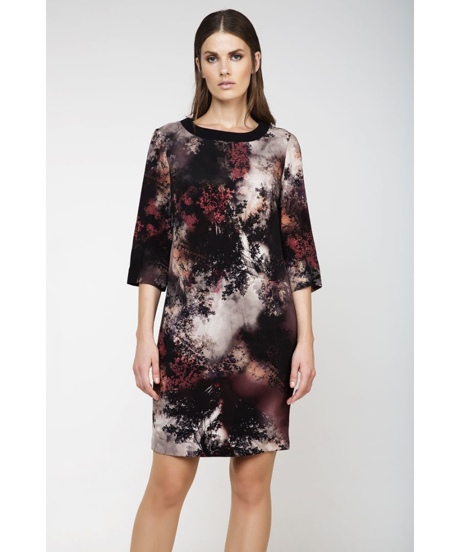 Image for Print Sack Dress