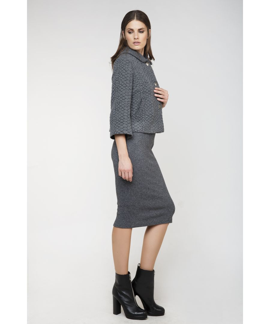 Image for Knitted Jacquard Jacket