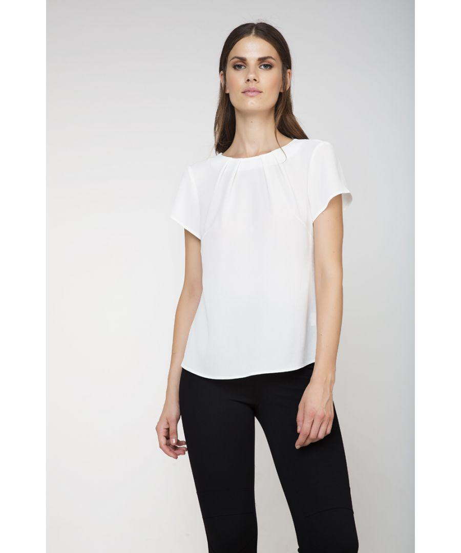 Image for Button Detail Short Sleeve Top