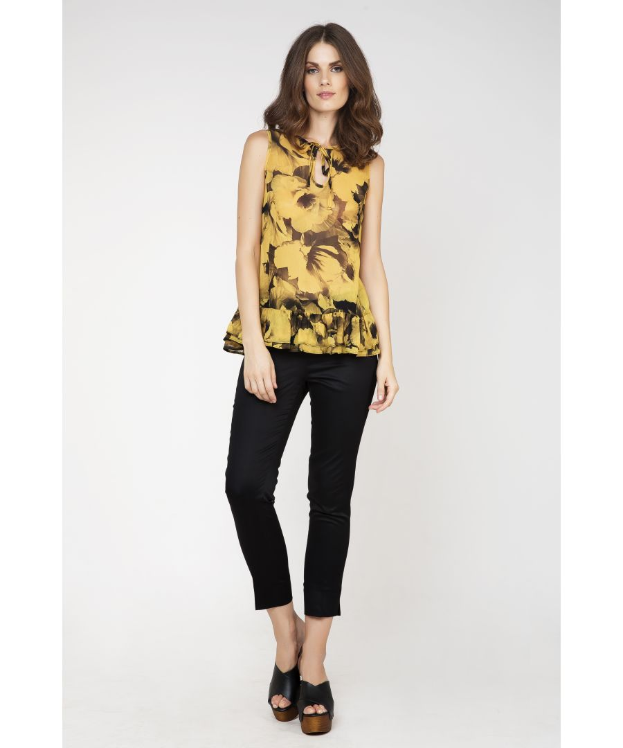 Image for Frill Detail Sleeveless Top