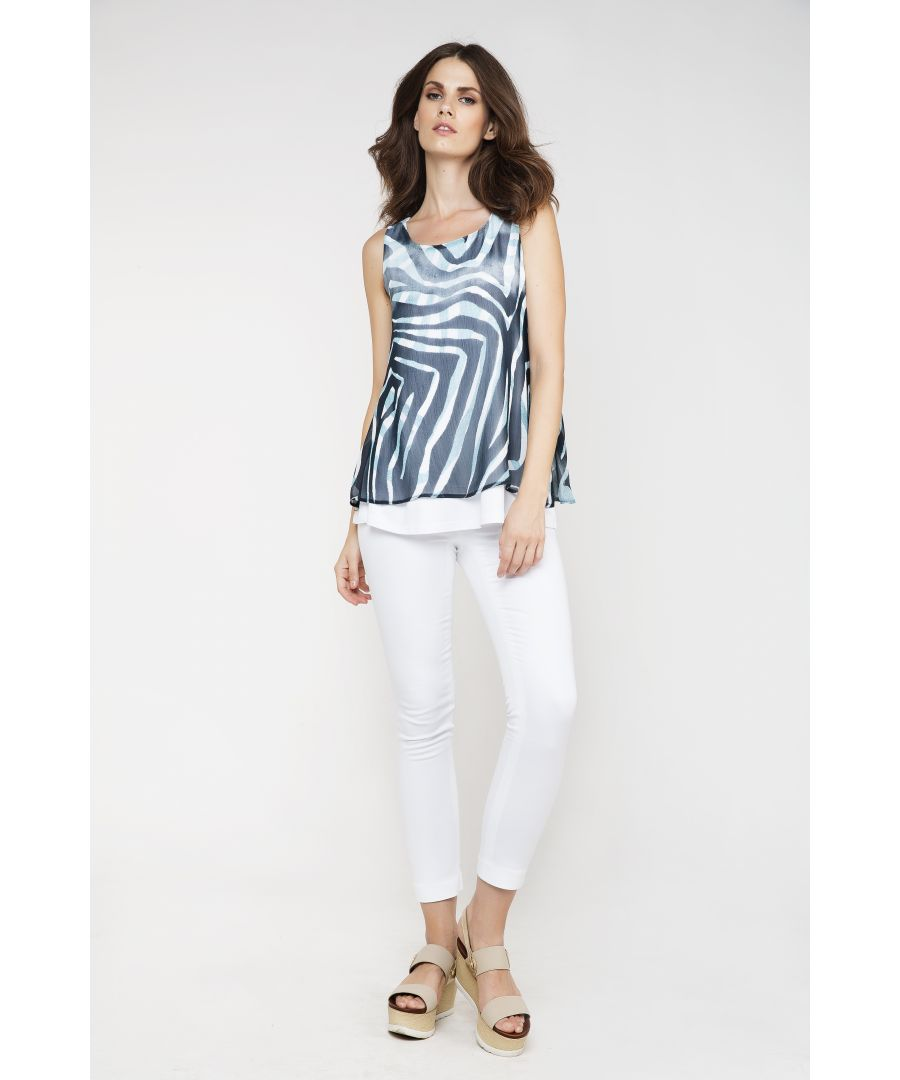 Image for Animal Print Layer Top