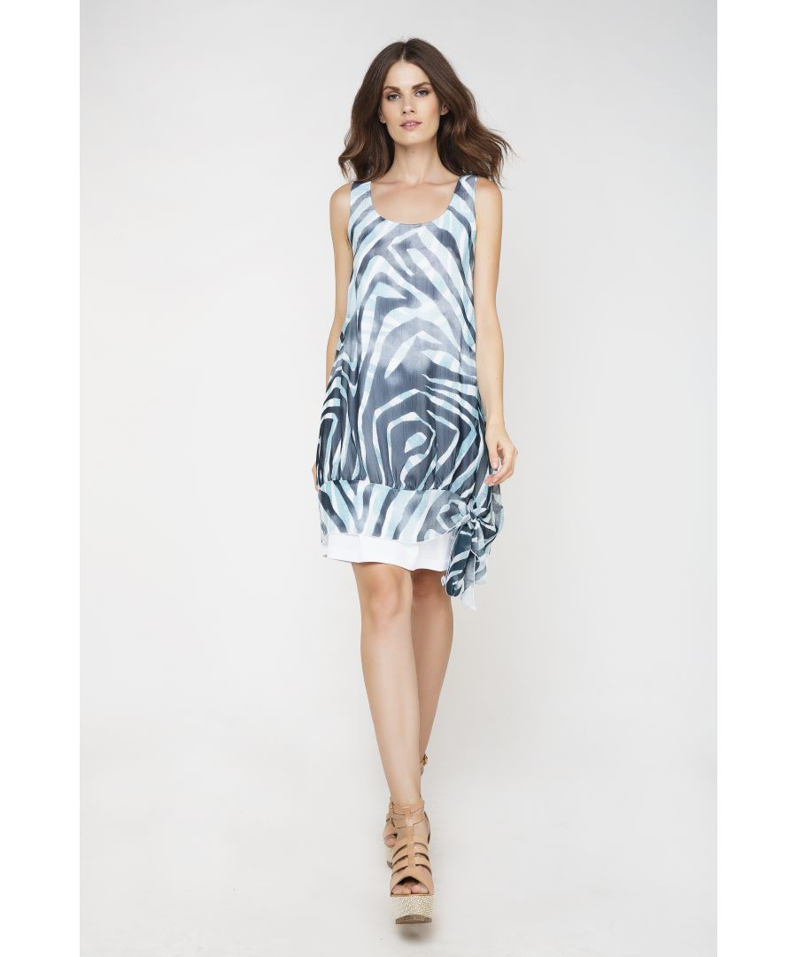 Image for Sleeveless Double Layer Dress