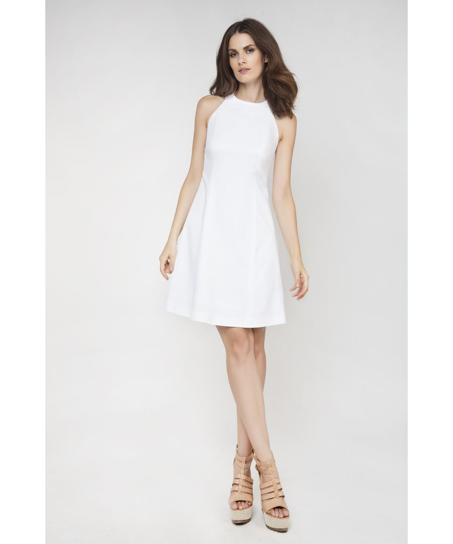 Image for Sleeveless A-Line Dress