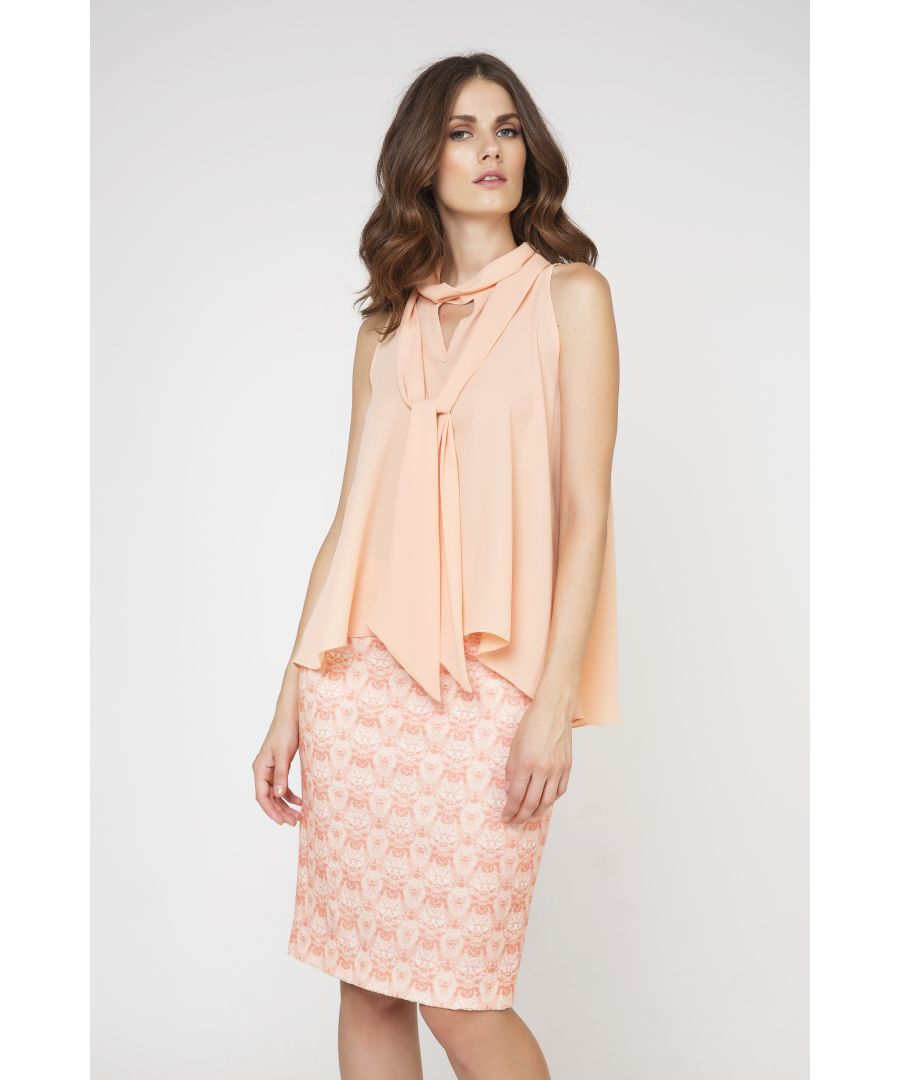 Image for Tie Detail Sleeveless Top
