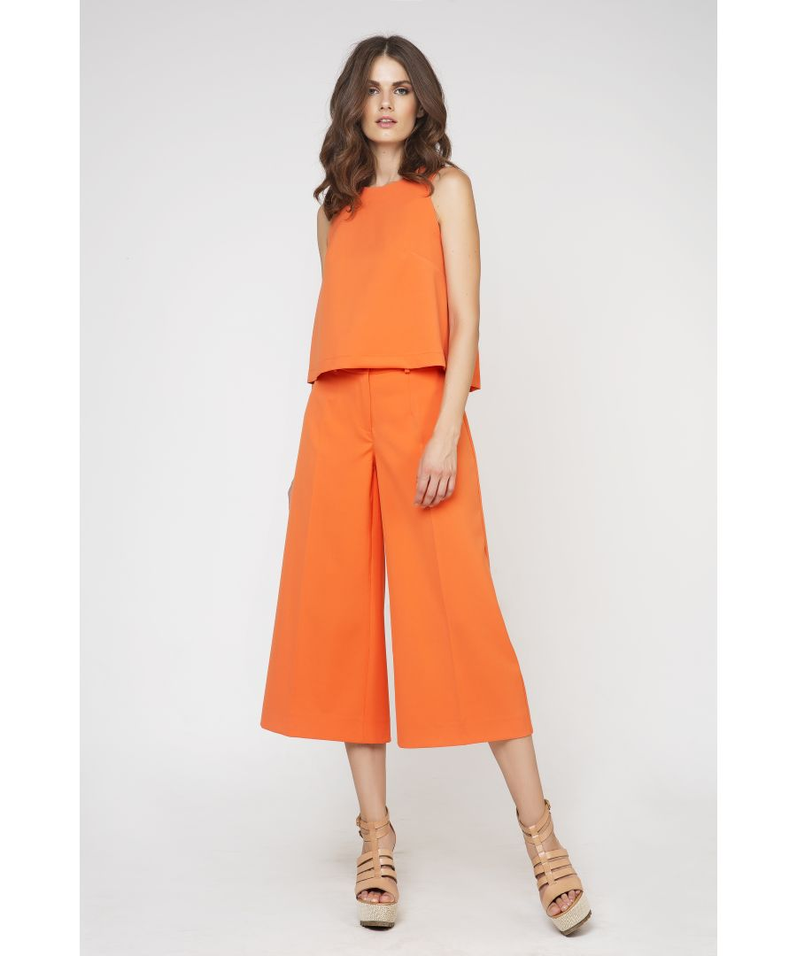 Image for Cropped Culottes by Conquista Fashion by Conquista Fashion