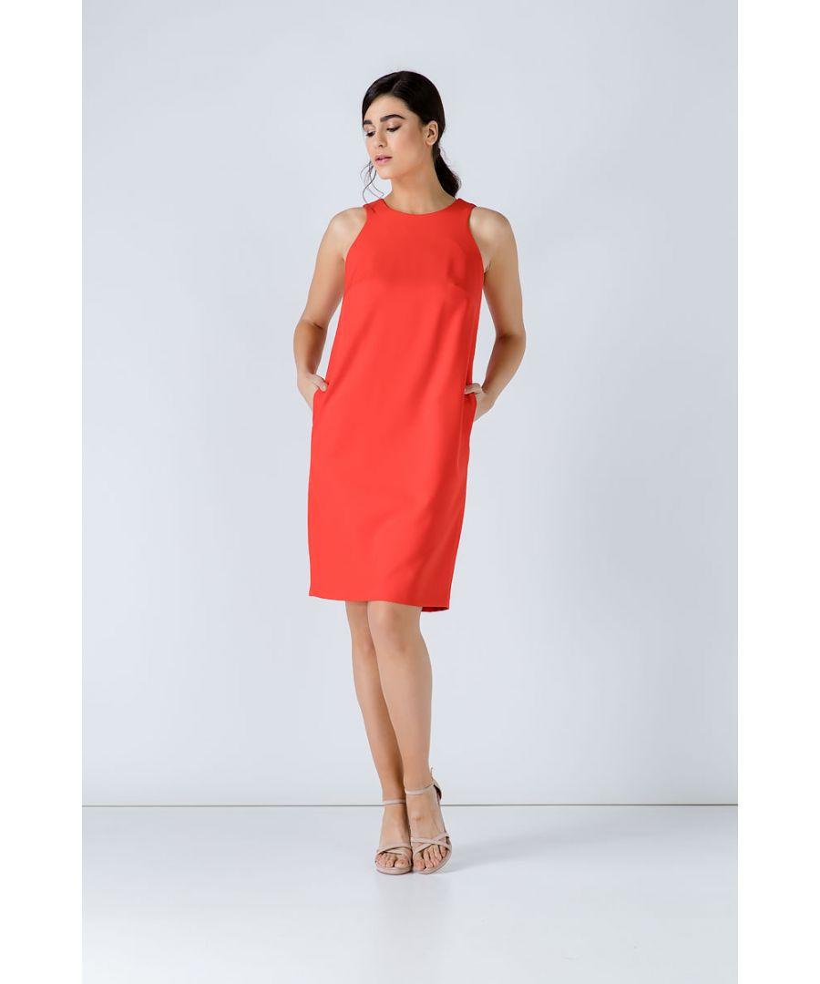 Image for Sleeveless Sack Dress