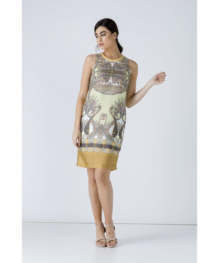 Image for Paisley Sleeveless Dress