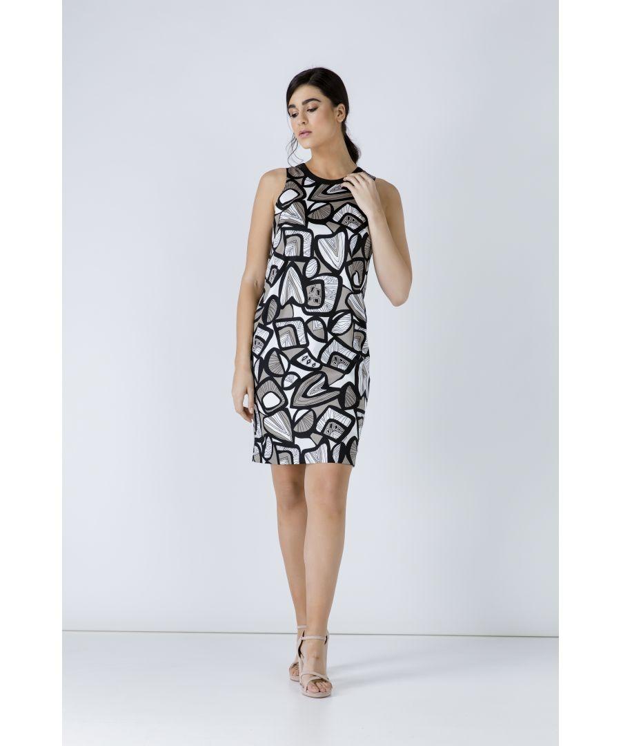 Image for Print Sleeveless Dress