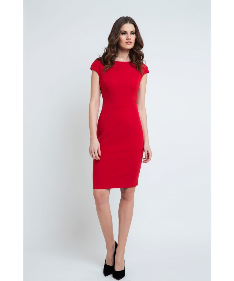 Image for Cap Sleeve Dress