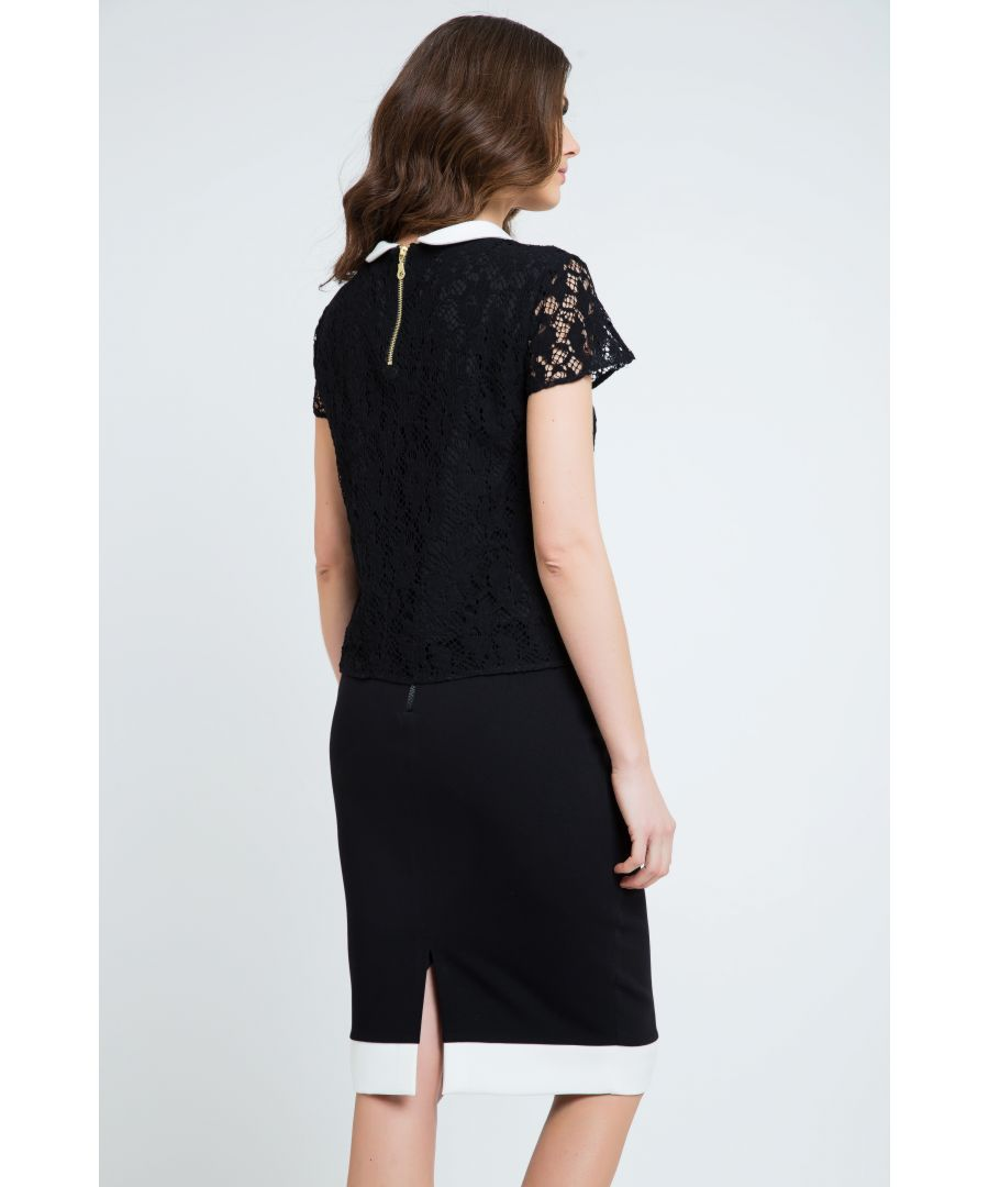 Image for Midi Pencil Skirt