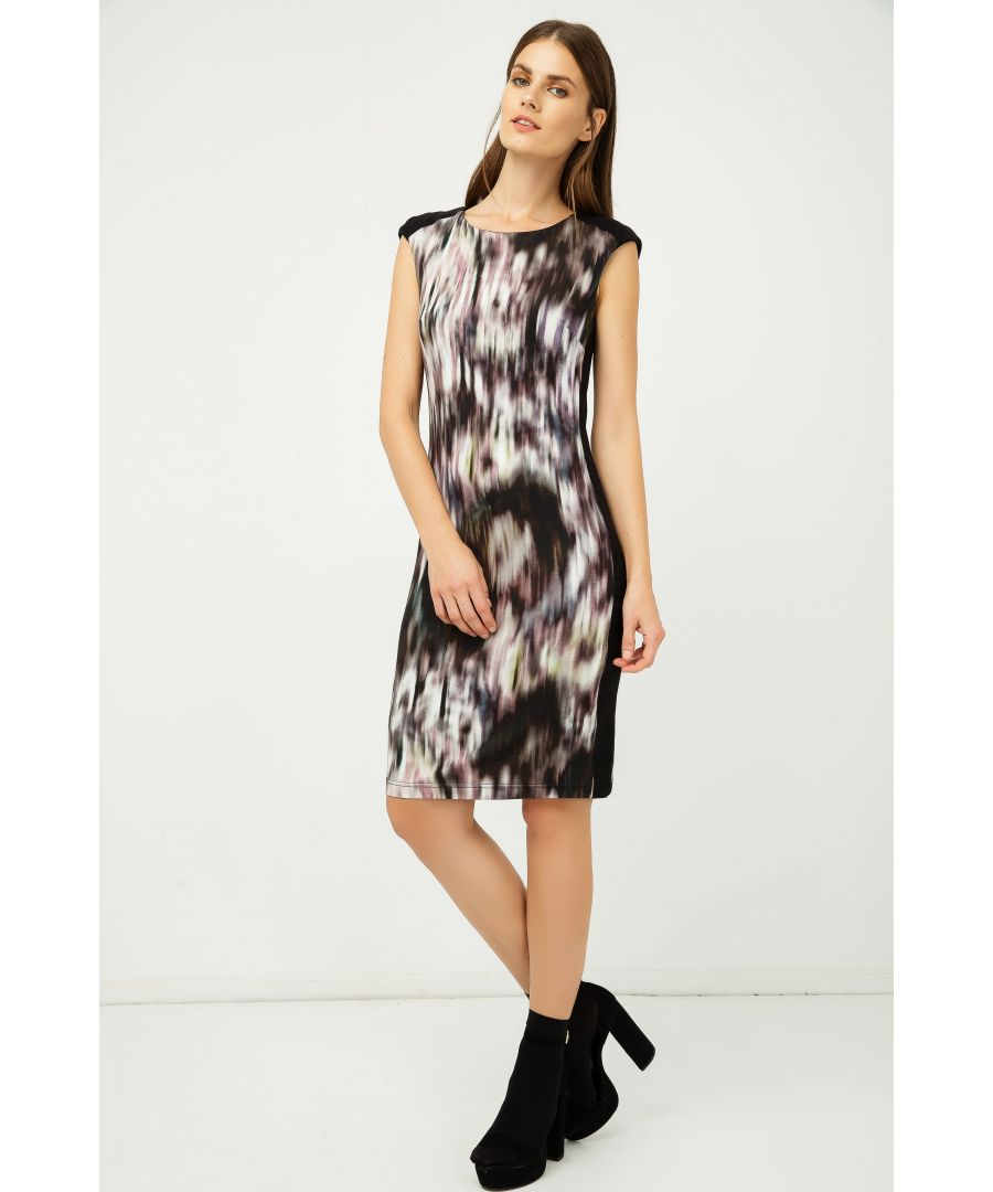 Image for Sleeveless Print Dress