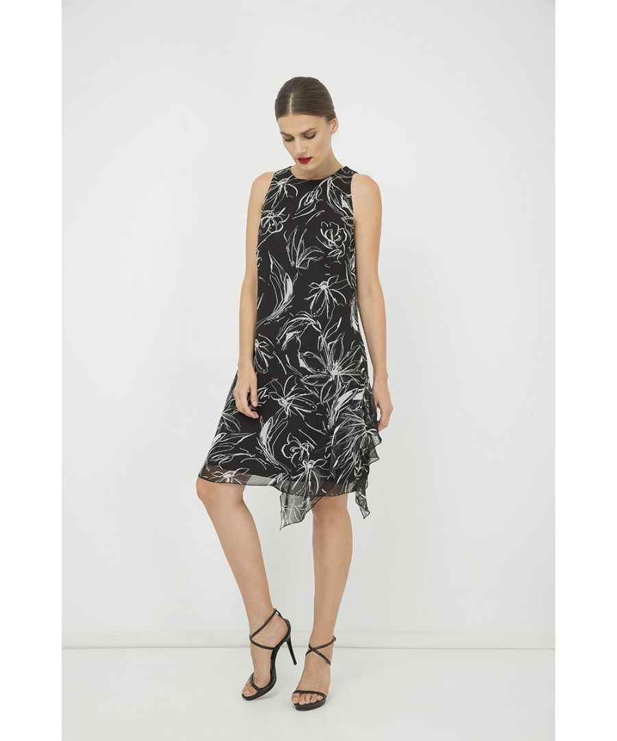 Image for Frill Detail Sleeveless Dress