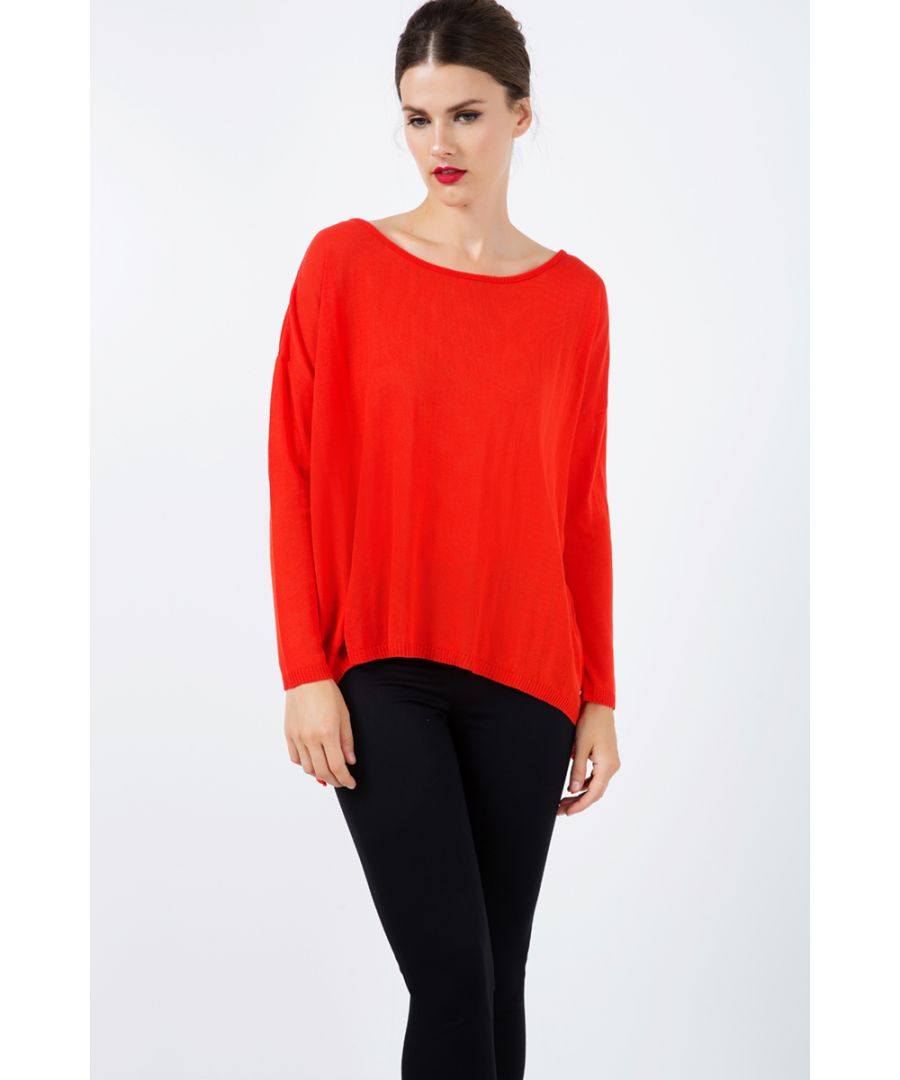 Image for Loose Knit Top in Grenadine