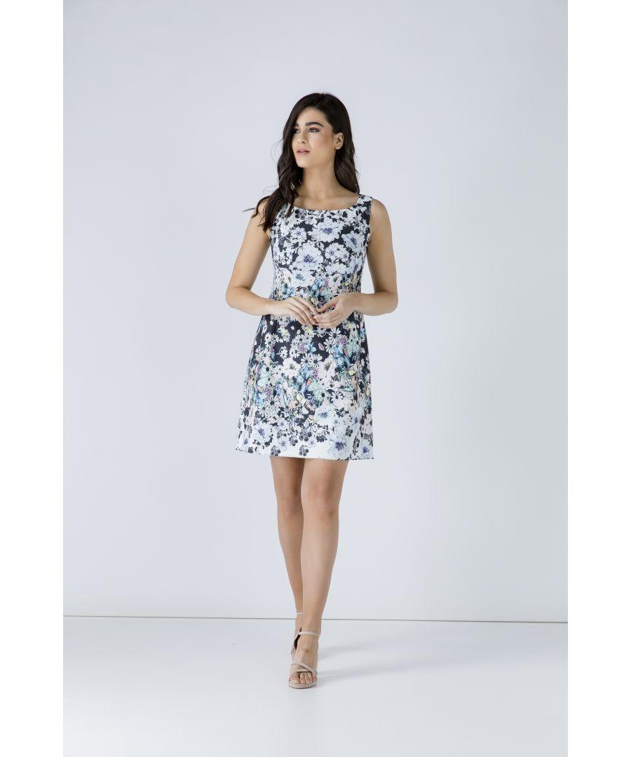 Image for Floral Empire Line Dress