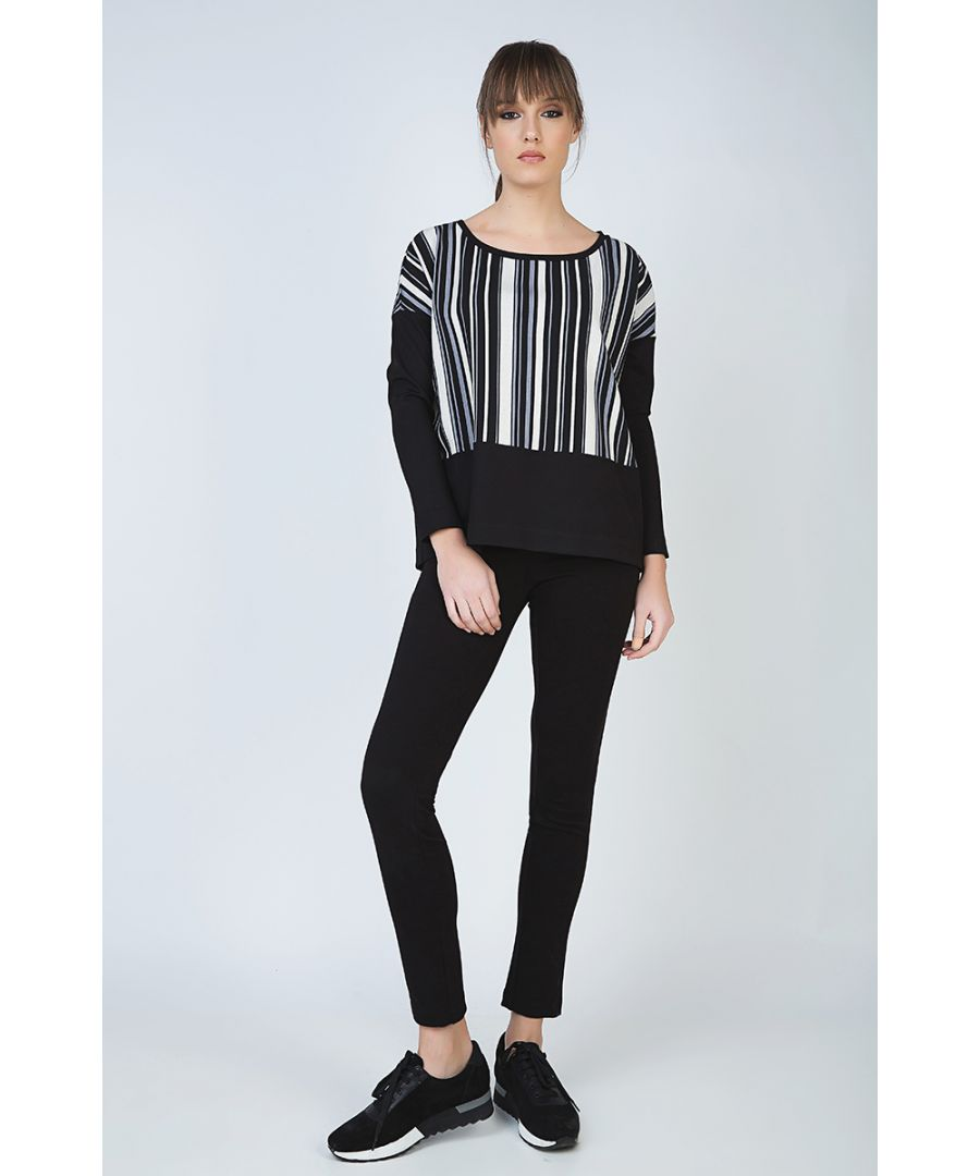 Image for Striped Long Sleeve Top