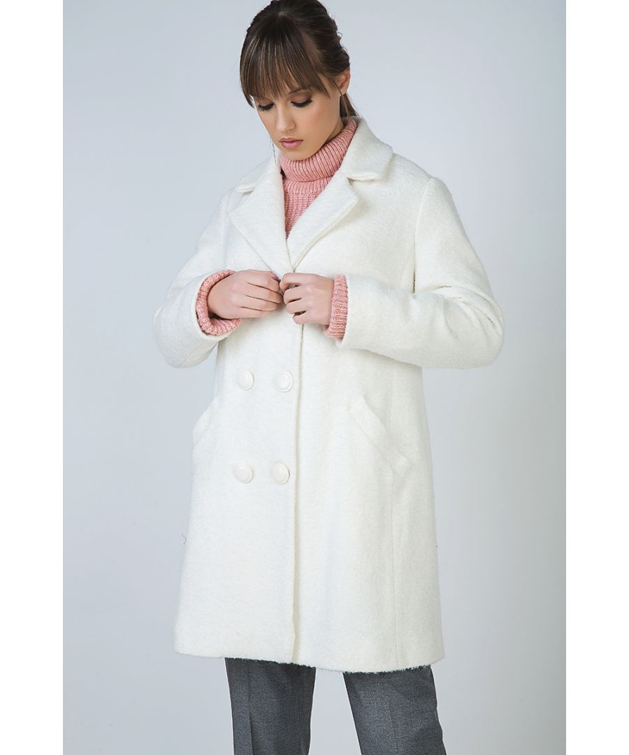 Image for Cosy Double Breasted Coat