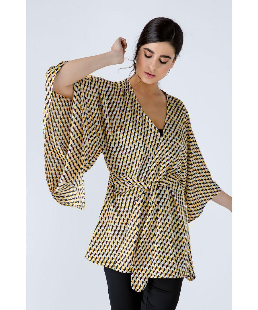 Image for Print Kimono
