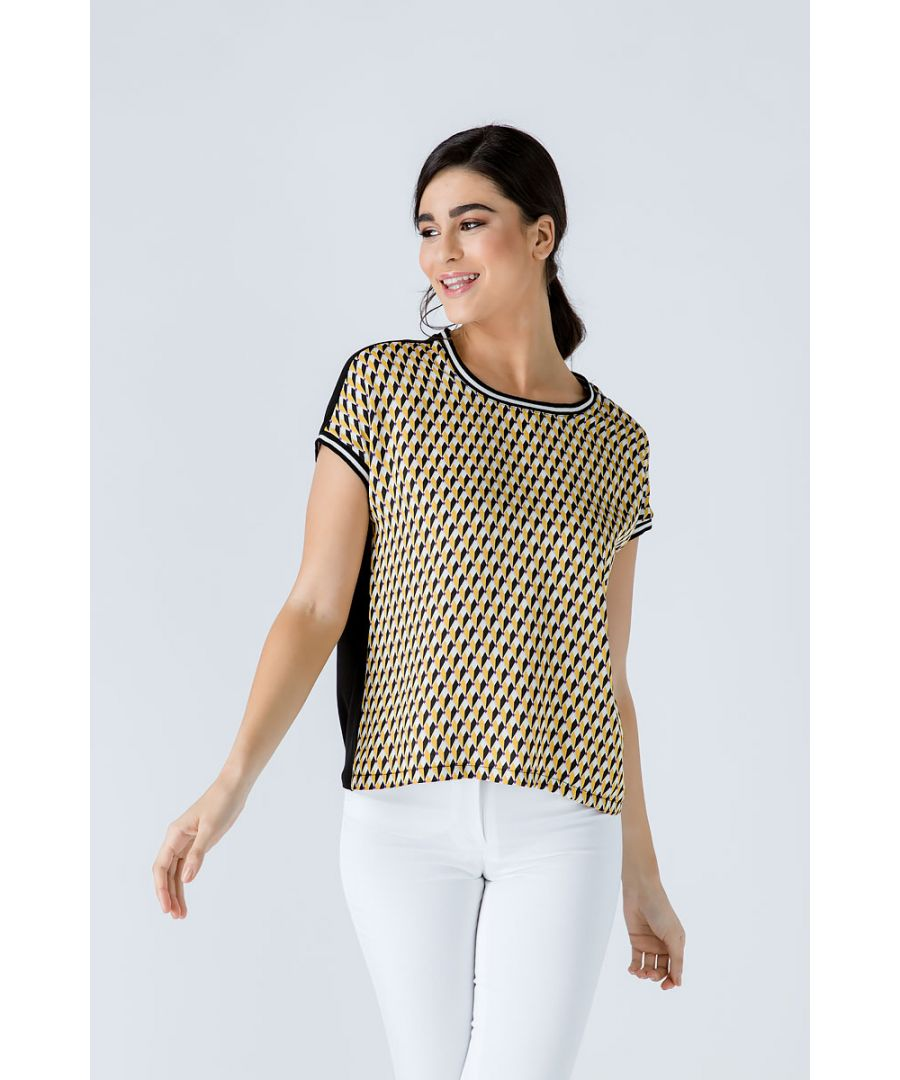 Image for Print Top with Trim Detail