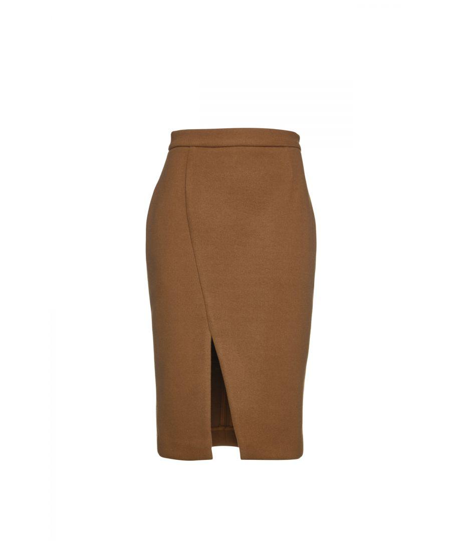 Image for Camel Mouflon Pencil Skirt