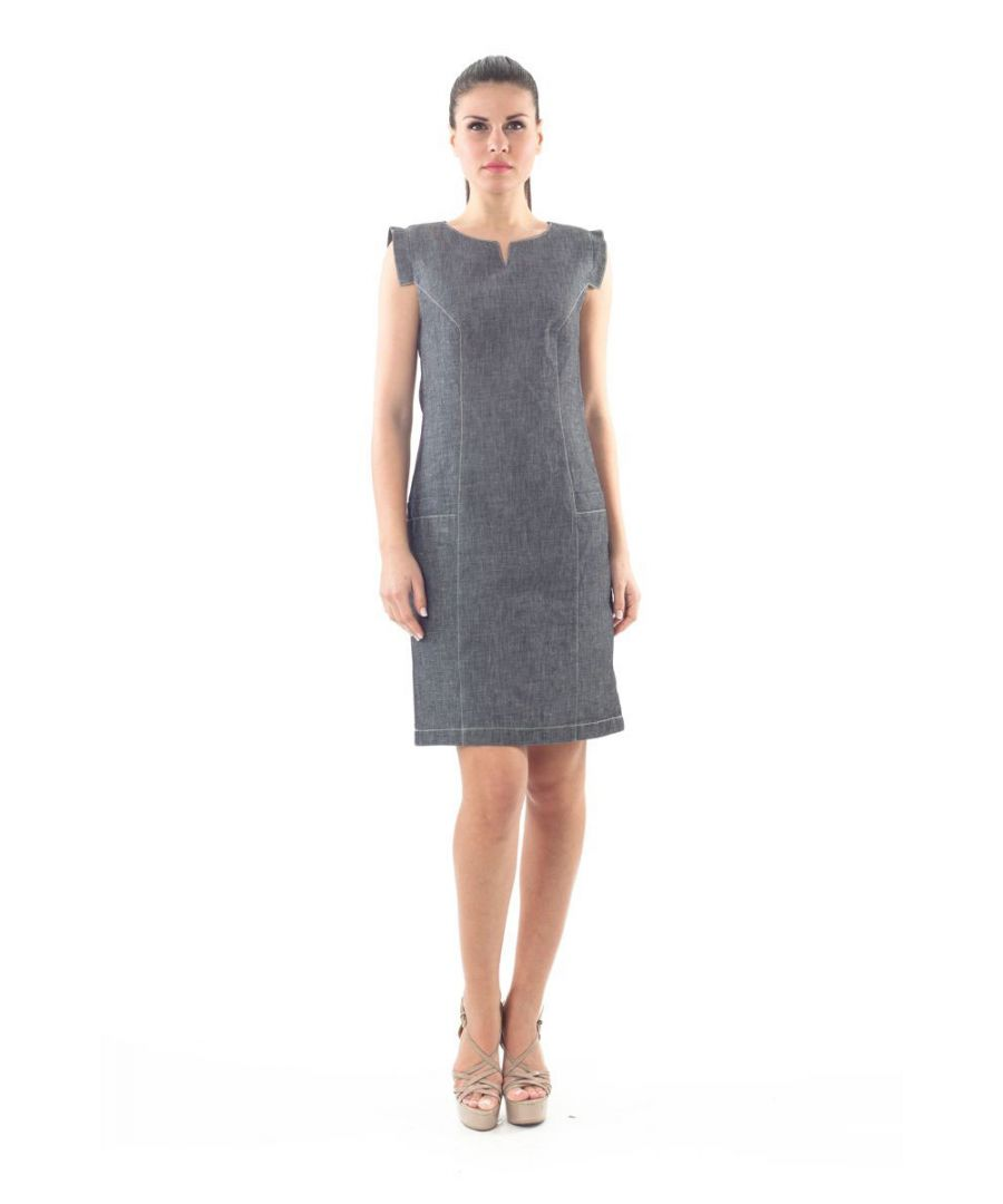 Image for Denim Look Shift Dress