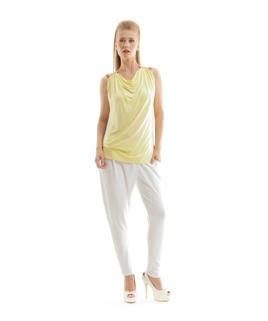 Image for Sleeveless Top with Contrast Back