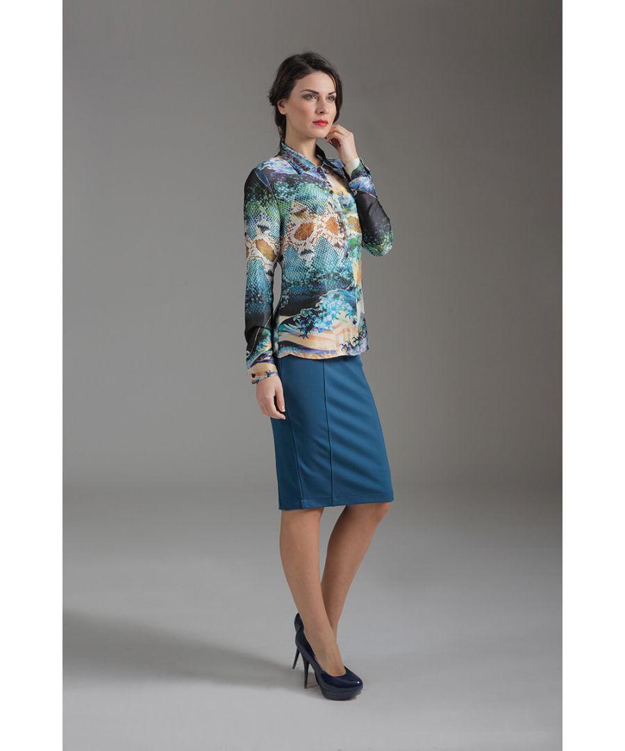 Image for Long Sleeve Print Shirt