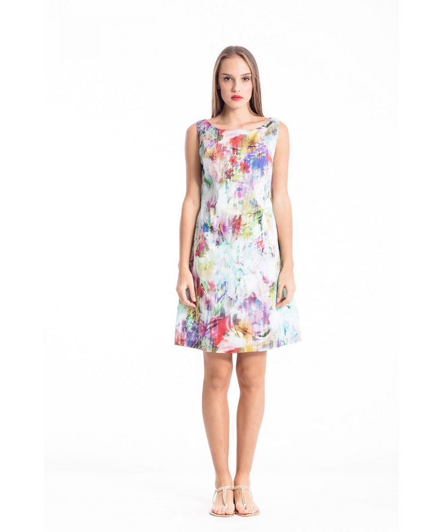 Image for Floral Woven Dress