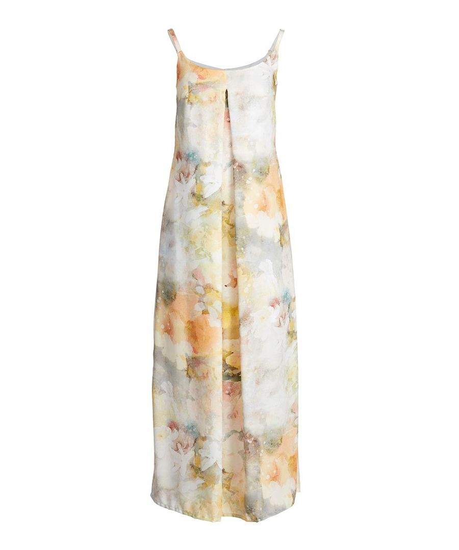 Image for Maxi Print Dress with Straps