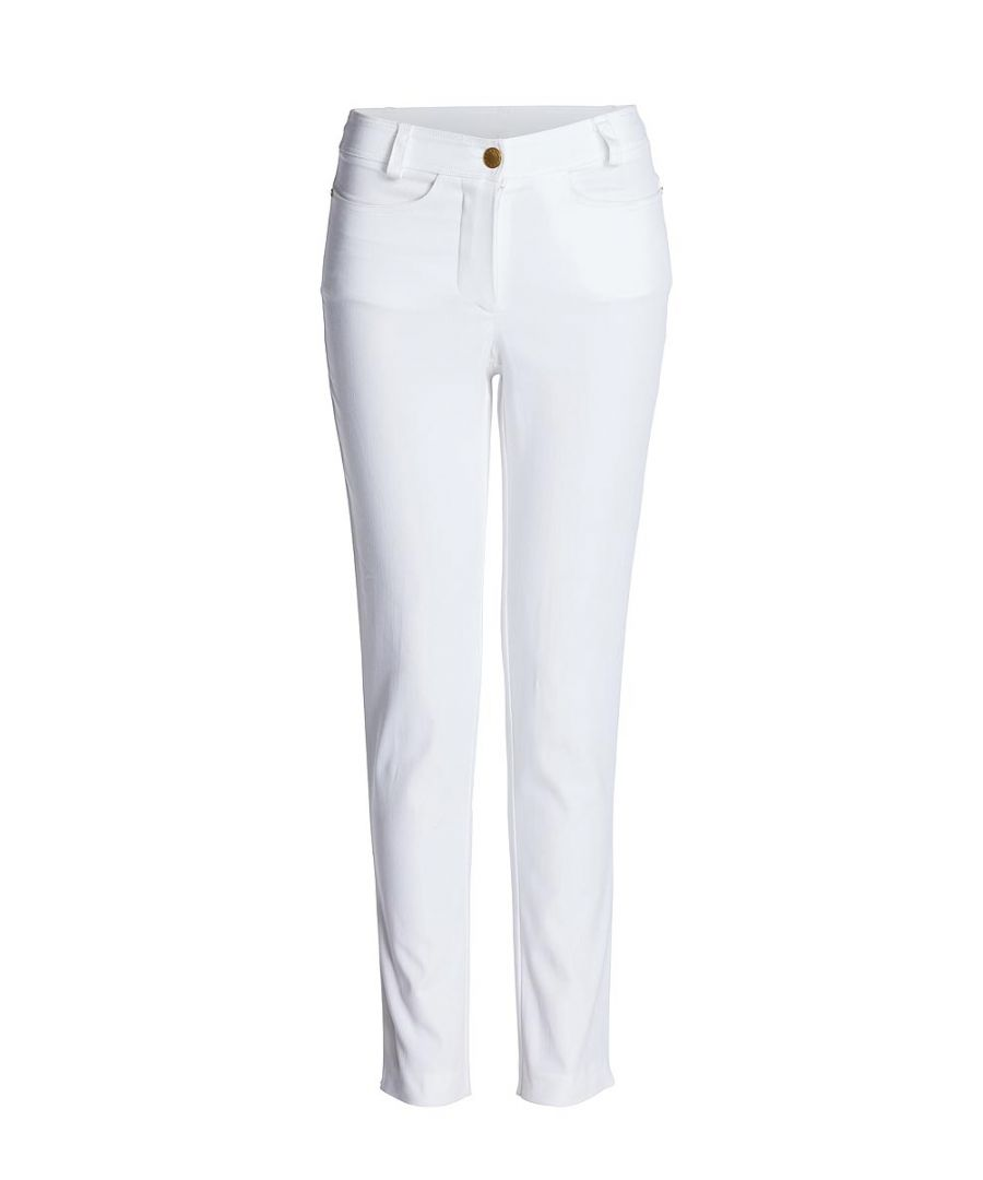 Image for Fitted Mid Rise Trousers