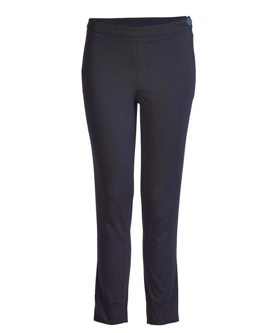 Image for Fitted Stretch Trousers